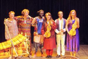 Z Kolbergiem po Afryce i Azji